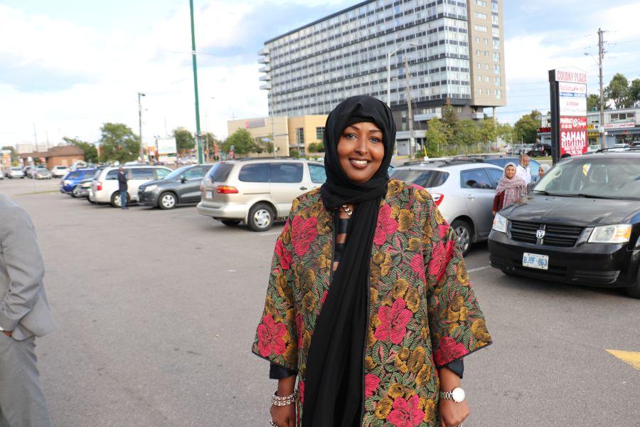 Xildhibaan Amina Ali TORONTO331