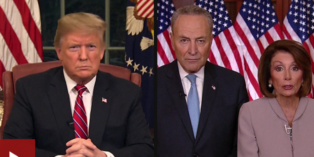 trump and democratic party